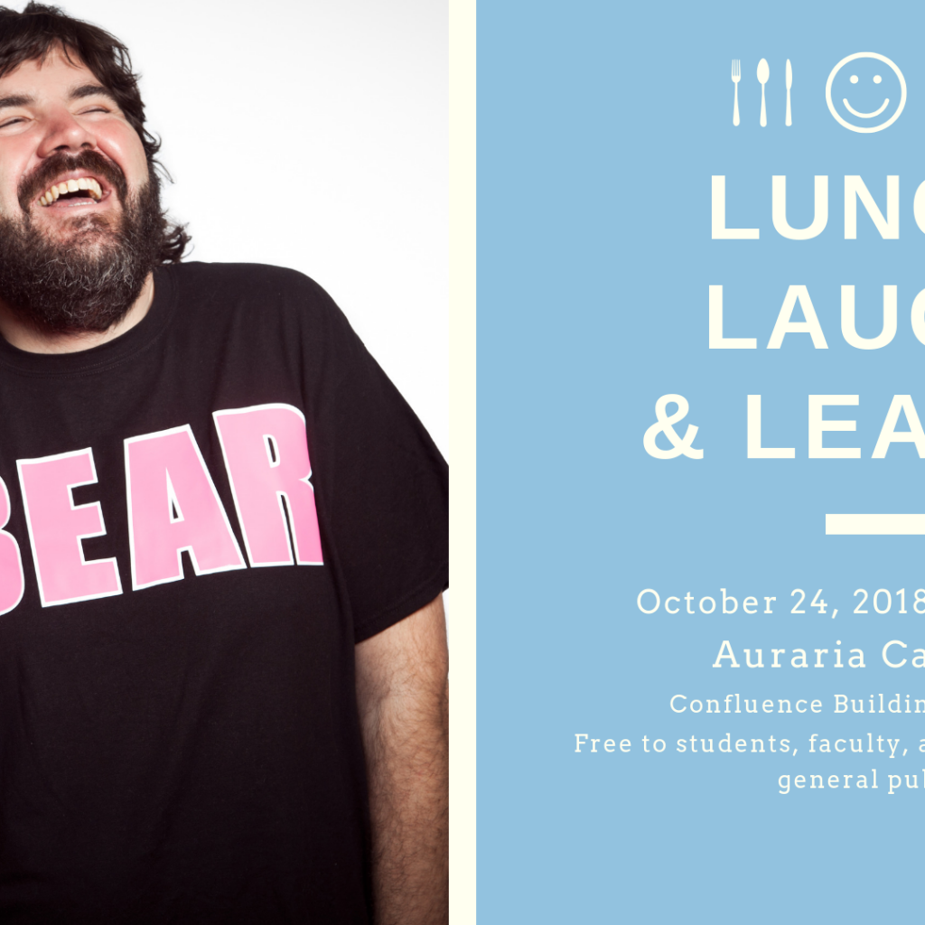 Lunch, Laugh and Learn with Chuck Roy