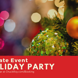 Private Event | Holiday Party | Book-A-Bear at https://chuckroy.com/booking/