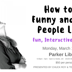 How to be Funny and Make People Laugh