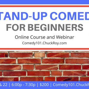 Stand-up Comedy for Beginners - July 2019
