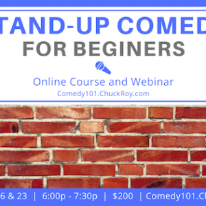 Stand-up Comedy for Beginners _ September 2019