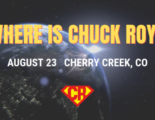 Where is Chuck Roy - August 23, 2010
