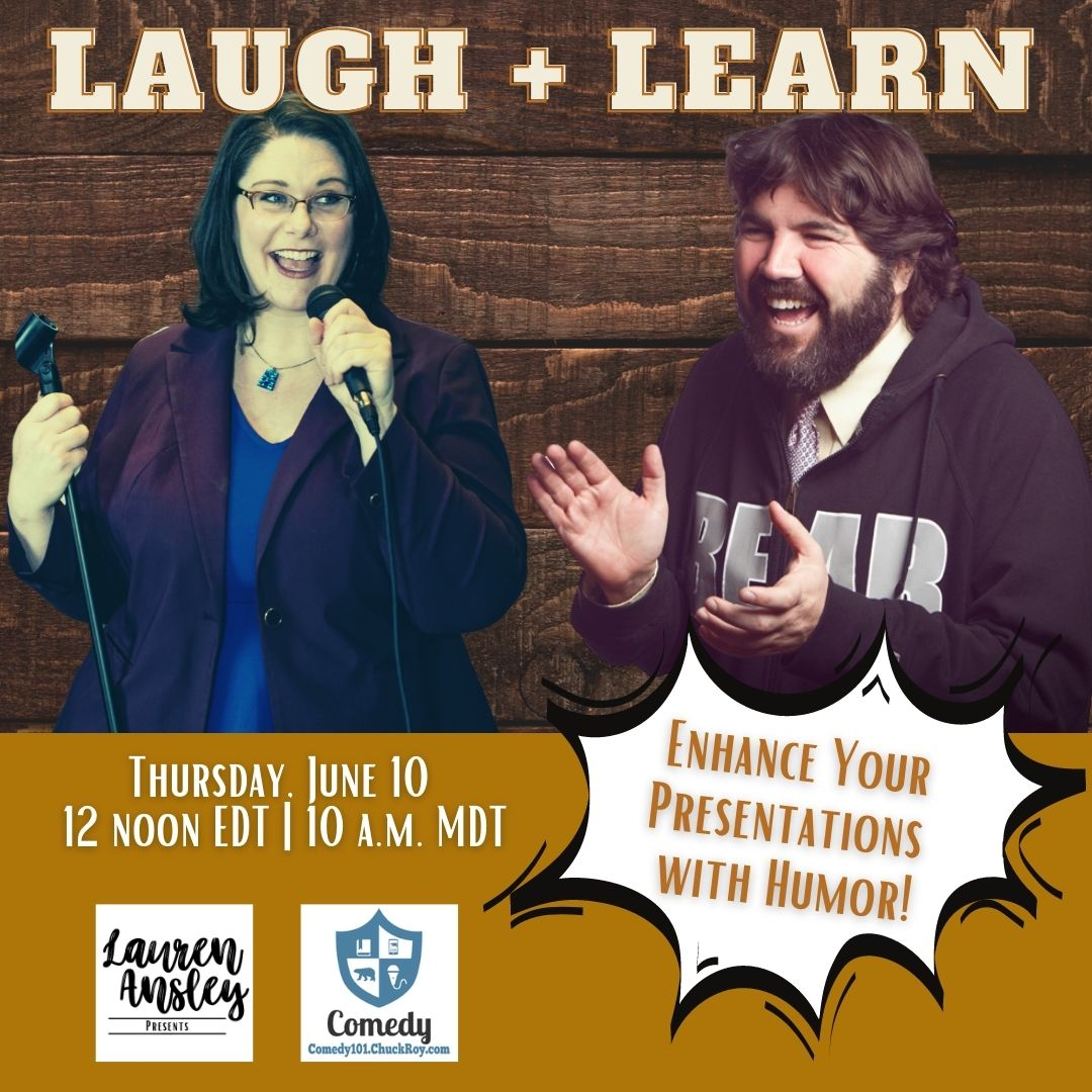 Luagh and Learn, Enhance your presentations with humor